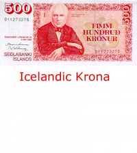 Iceland Krona currency